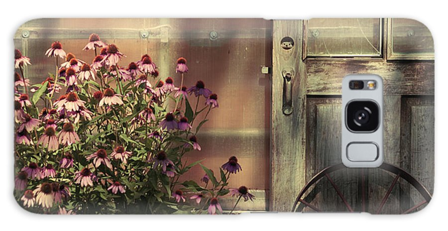 Country Prints Galaxy S8 Case featuring the photograph Rustic Corner by Aimelle