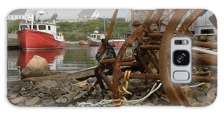 Scenic Galaxy Case featuring the photograph Rusty Anchors-2 by Steve Somerville