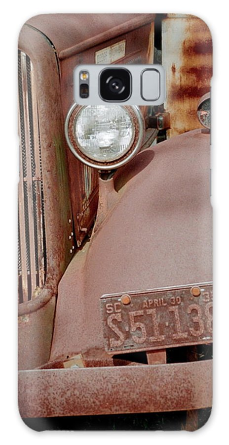 Car Galaxy Case featuring the photograph Rusty by Flavia Westerwelle