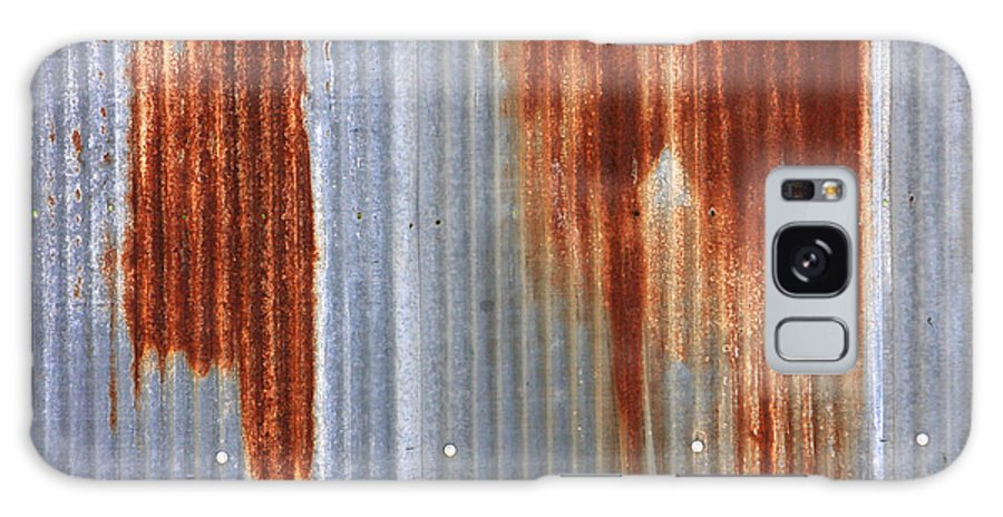 Rust Galaxy S8 Case featuring the photograph Rusty Siding by James BO Insogna