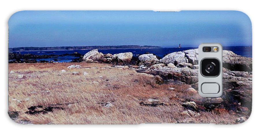 Landscape Galaxy S8 Case featuring the photograph Rye Nh Shoreline by Marcia Lee Jones