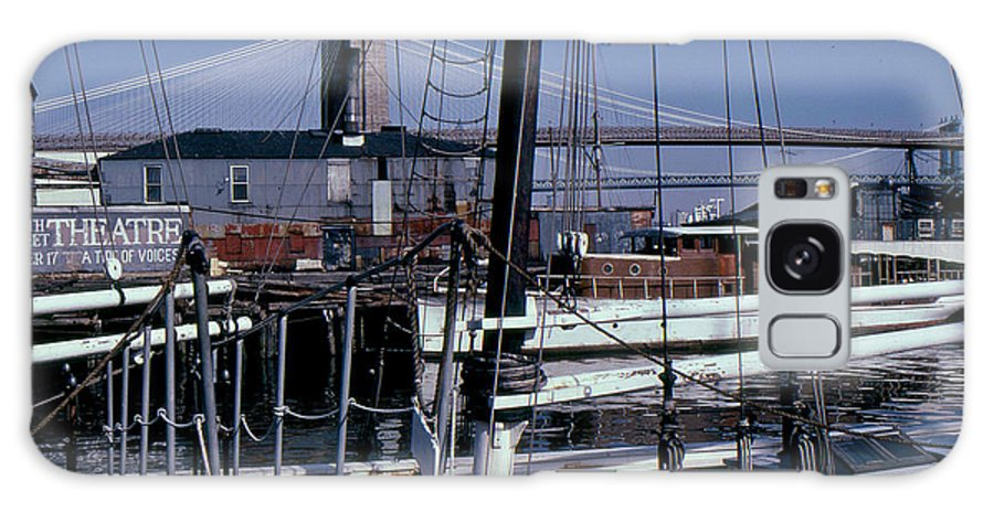 New York Galaxy S8 Case featuring the photograph S. Street Seaport by David Pettit