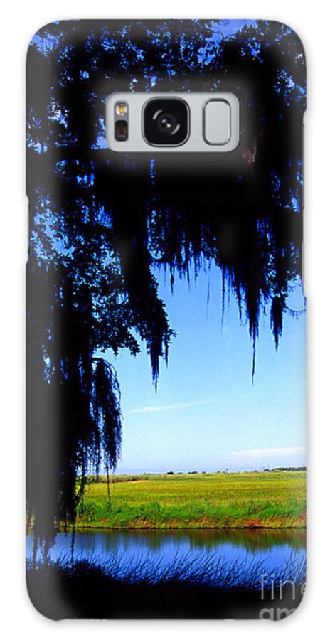 Louisiana Outback Galaxy S8 Case featuring the photograph Sabine National Wildlife Refuge Along The Creole Nature Trail by Thomas R Fletcher