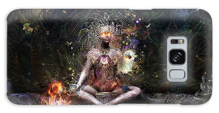 Cameron Gray Galaxy Case featuring the digital art Sacrament For The Sacred Dreamers by Cameron Gray