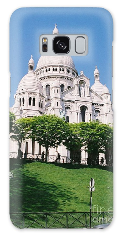 Church Galaxy Case featuring the photograph Sacre Coeur by Nadine Rippelmeyer
