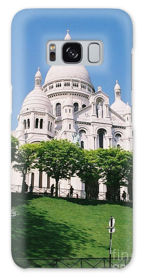 Church Galaxy S8 Case featuring the photograph Sacre Coeur by Nadine Rippelmeyer