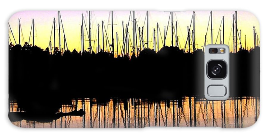 Sailboats Galaxy S8 Case featuring the photograph Safe Haven by Will Borden