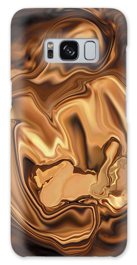 Abstract Galaxy Case featuring the digital art Safe-in-her-arms by Rabi Khan