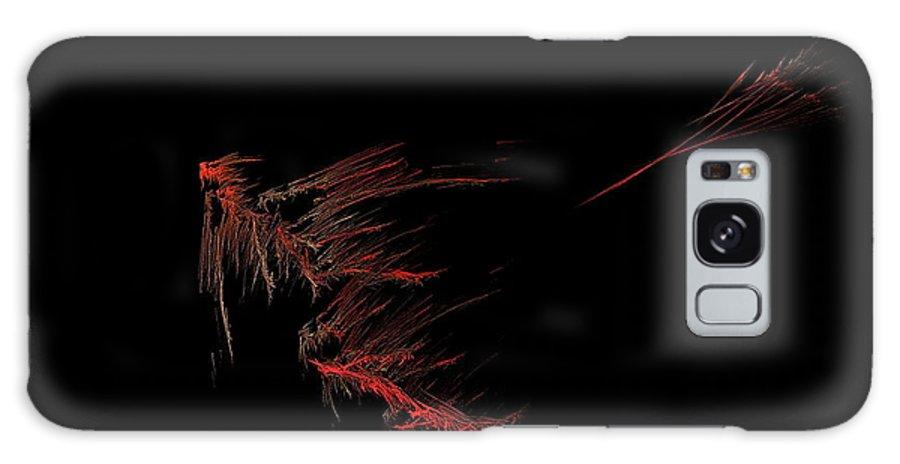 Allegory Galaxy S8 Case featuring the painting Sagittarius by Viktor Savchenko