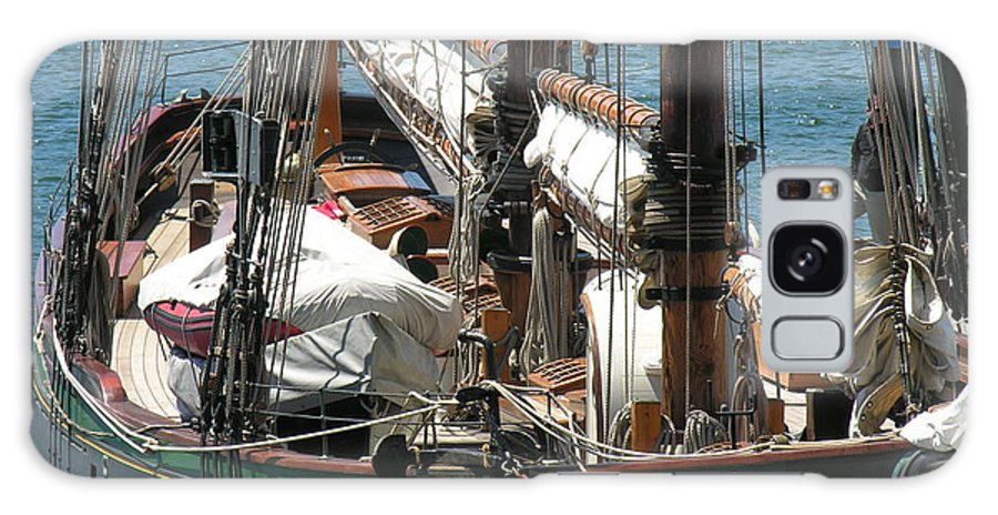 Boat Galaxy S8 Case featuring the photograph Sail Boat by Diane Greco-Lesser