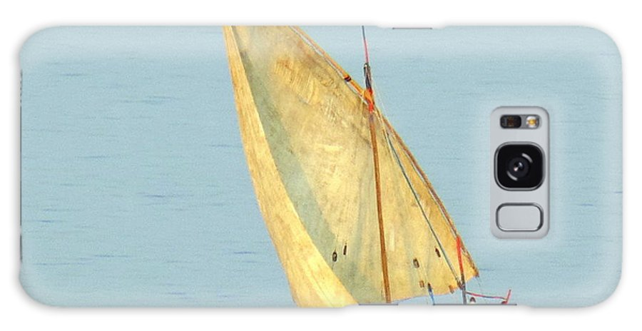Ocean Galaxy S8 Case featuring the photograph Sail Boat Madagascar by John Potts
