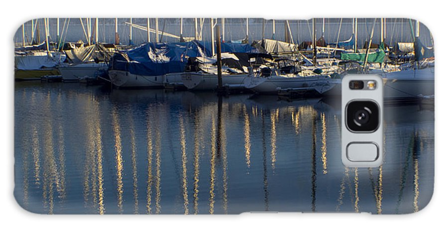 Mast Galaxy S8 Case featuring the photograph Sailboat Reflections by Idaho Scenic Images Linda Lantzy