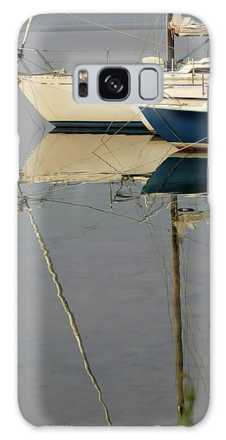 Boats Galaxy S8 Case featuring the photograph Sailboats And Reflections by Guido Strambio