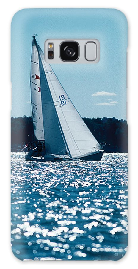 Sailing Galaxy Case featuring the photograph Sailing by Steve Somerville