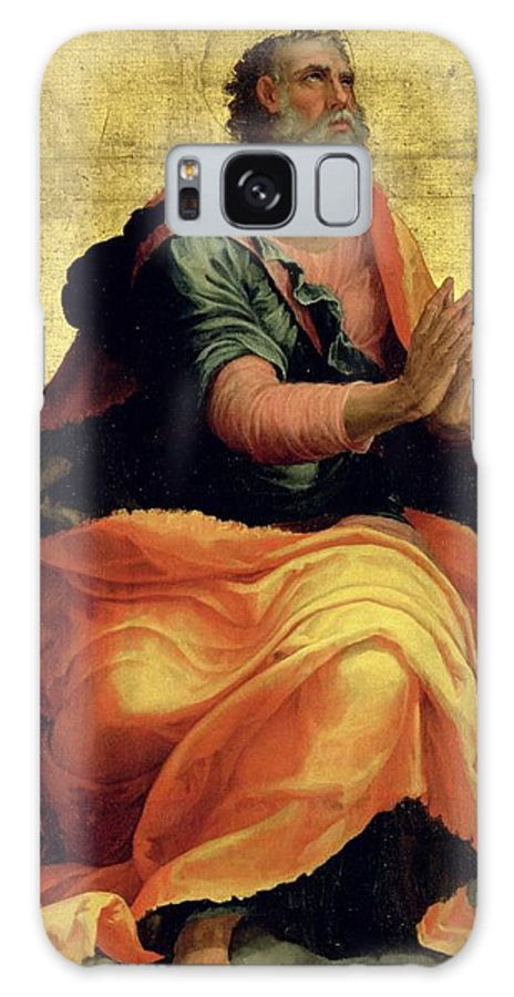 Saint Galaxy S8 Case featuring the painting Saint Paul The Apostle by Marco Pino