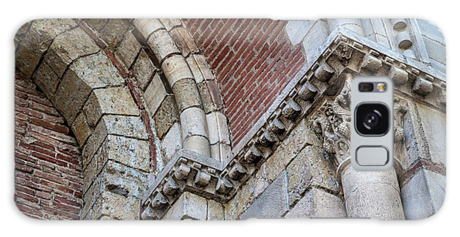 Architecture Galaxy S8 Case featuring the photograph Saint Sernin Basilica Architectural Detail by Elena Elisseeva