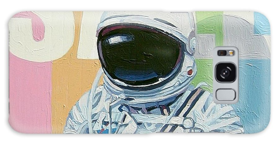 Astronaut Galaxy S8 Case featuring the painting Sale by Scott Listfield
