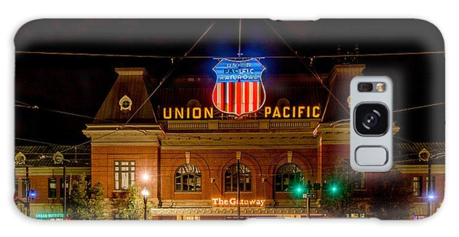 City Galaxy S8 Case featuring the photograph Salt Lake City Union Pacific Depot by Paul LeSage