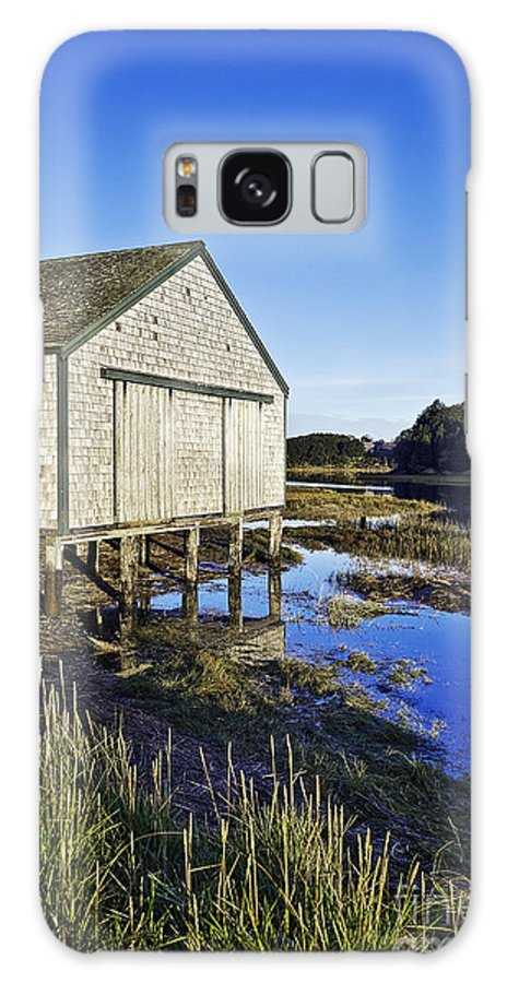 Cape Cod Galaxy S8 Case featuring the photograph Salt Pond Boathouse by John Greim
