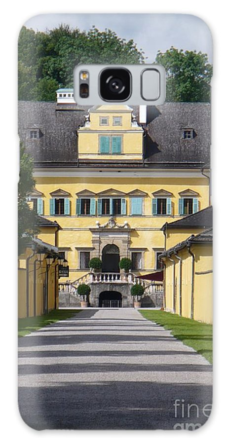 Austria Galaxy S8 Case featuring the photograph Salzburg Chateau by Carol Groenen