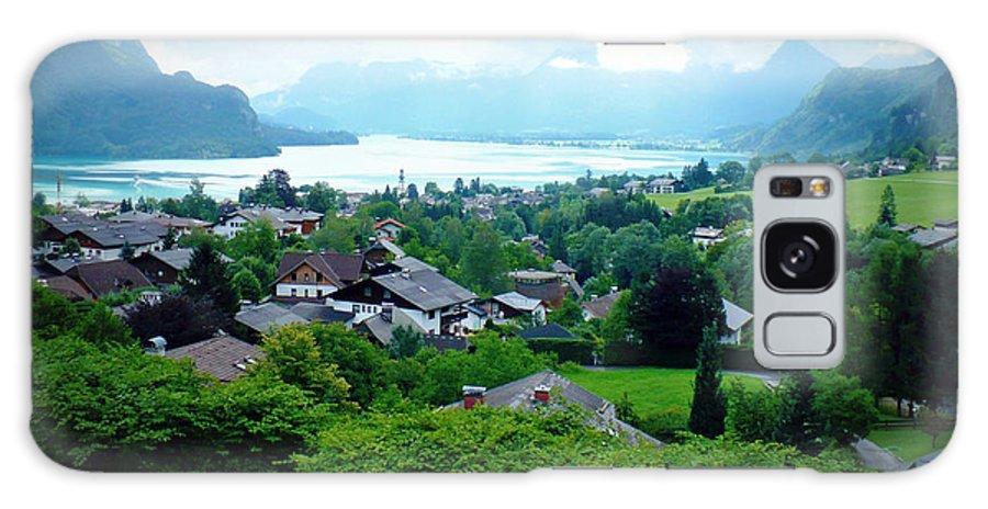 Austria Galaxy S8 Case featuring the photograph Salzburg Lake District by Carol Groenen