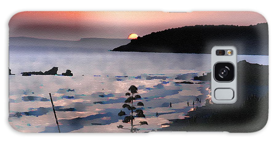 Sunset Galaxy S8 Case featuring the photograph San Adeodato Sunset II by Dee Flouton