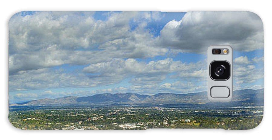San Fernando Valley Galaxy S8 Case featuring the photograph San Fernando Valley Panorama by David Zanzinger