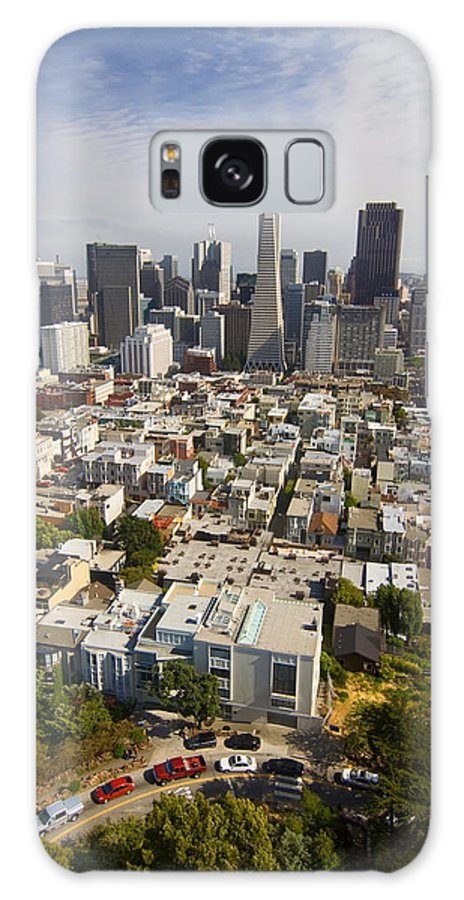 San Francisco Skyline Galaxy S8 Case featuring the photograph San Francisco Skyline by Sven Brogren