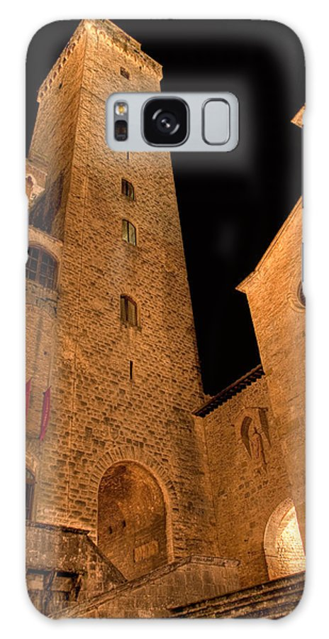 Italy Galaxy S8 Case featuring the photograph San Gimignano by Colette Panaioti