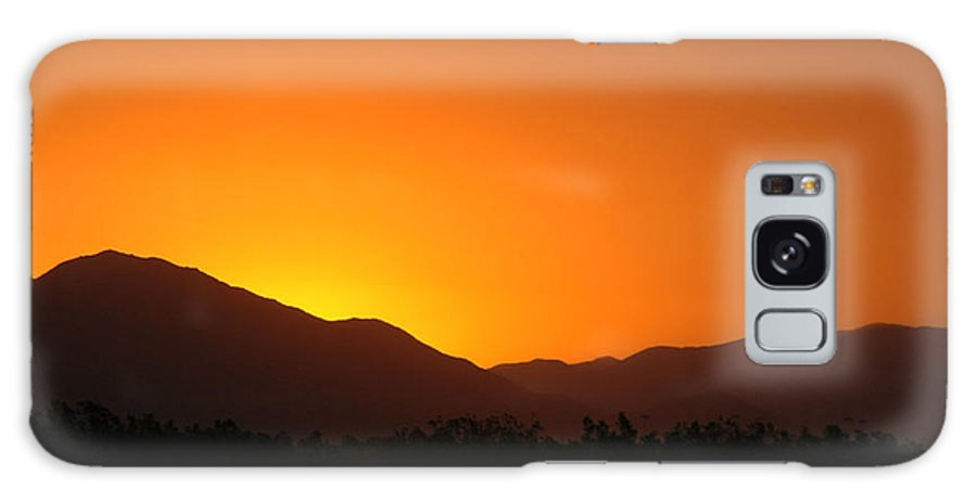 Sunset Galaxy S8 Case featuring the photograph San Jacinto Dusk Near Palm Springs by Michael Ziegler