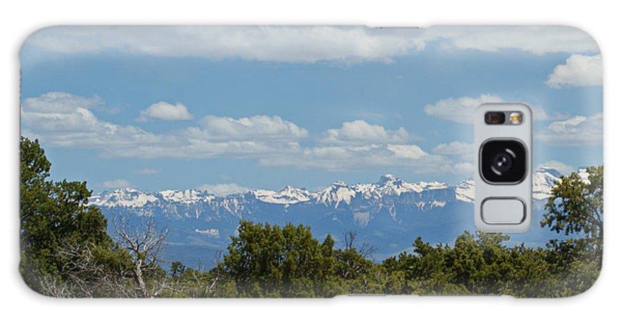 Art Galaxy S8 Case featuring the photograph San Juan Mountains by Ernie Echols
