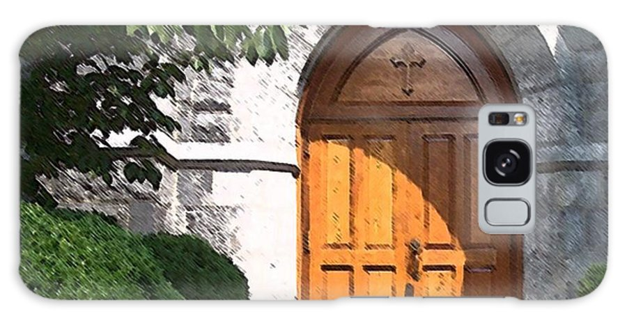 Church Galaxy Case featuring the photograph Sanctuary by Debbi Granruth