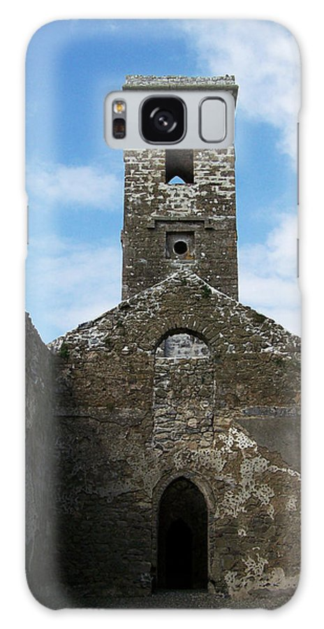 Ireland Galaxy S8 Case featuring the photograph Sanctuary Fuerty Church Roscommon Ireland by Teresa Mucha