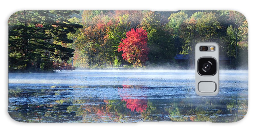Fall Foliage Galaxy Case featuring the photograph Sanctuary by Tom Heeter