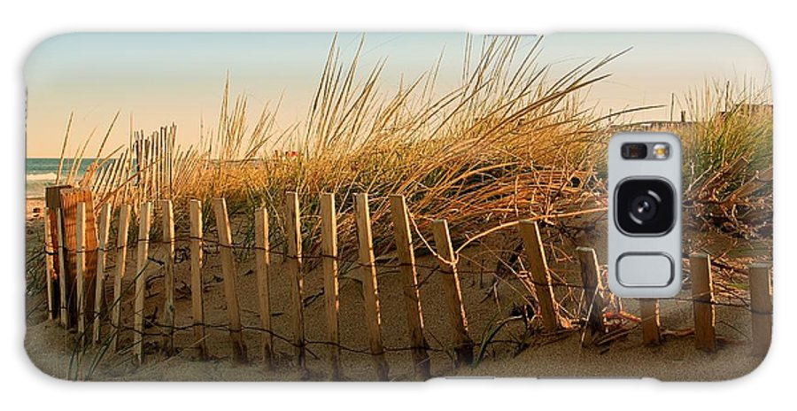 Jersey Shore Galaxy S8 Case featuring the photograph Sand Dune In Late September - Jersey Shore by Angie Tirado