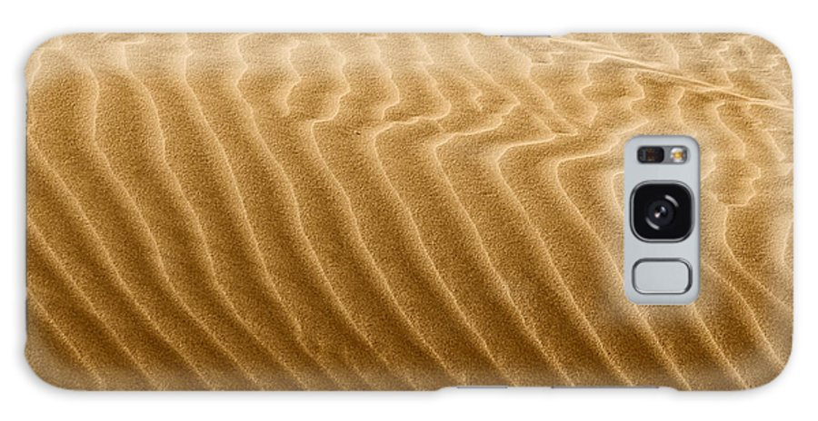 Sand Galaxy S8 Case featuring the photograph Sand Dune Mojave Desert California by Christine Till