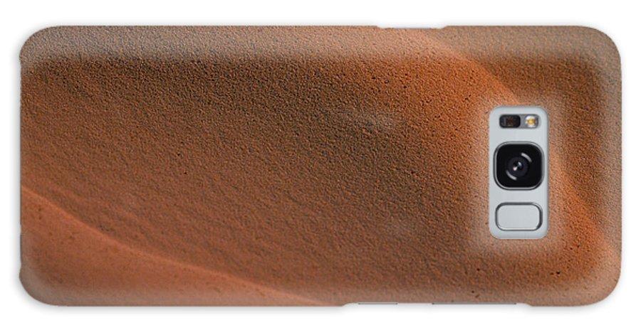 Sahara Galaxy S8 Case featuring the photograph Sand In Sahara by Michael Mogensen