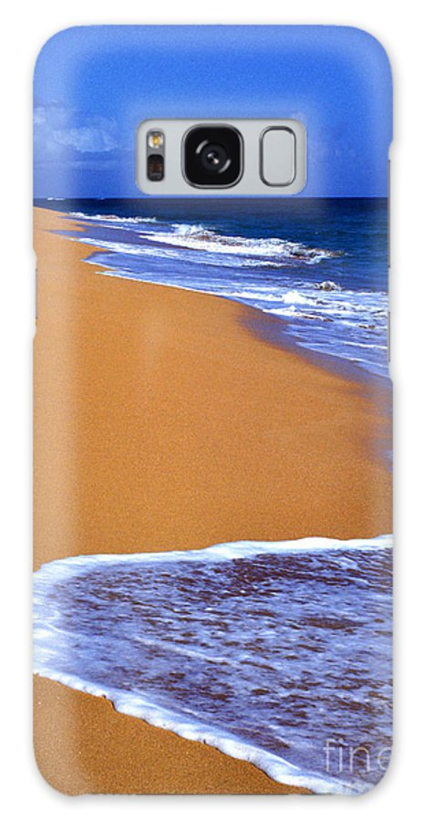 Puerto Rico Galaxy S8 Case featuring the photograph Sand Sea Sky by Thomas R Fletcher