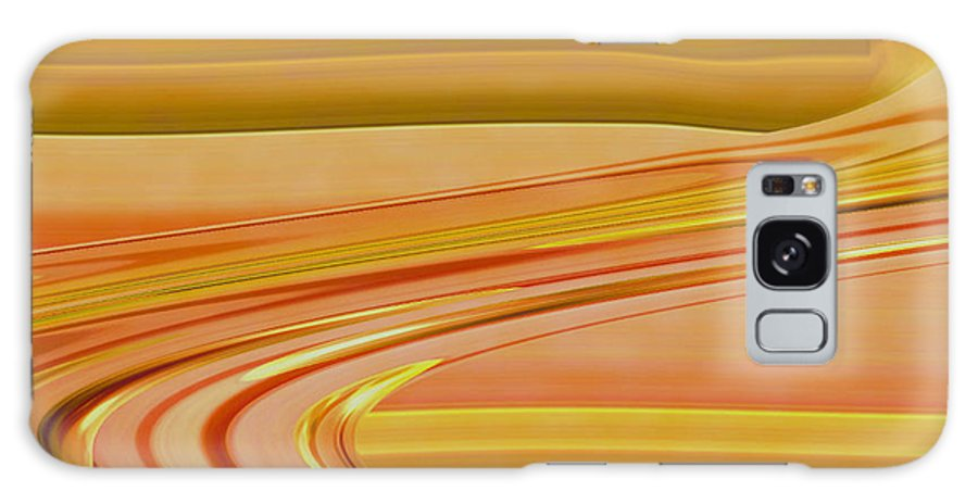 Sunset Art Galaxy Case featuring the digital art Sands Of Time by Linda Sannuti