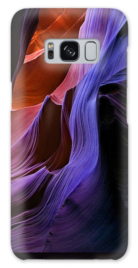 Sandstone Galaxy Case featuring the photograph Sandstone Cascade by Mike Dawson