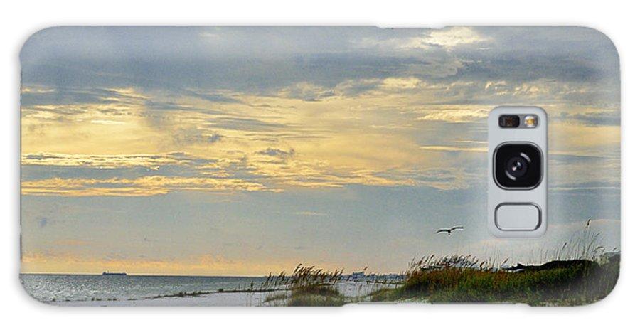 Ocean Galaxy S8 Case featuring the photograph Sandy Alabama Beach by Glenda Ward