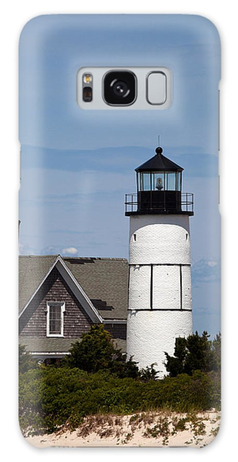 Sandy Galaxy S8 Case featuring the photograph Sandy Neck Light Barnstable Cape Cod Massachusetts by Michelle Wiarda-Constantine