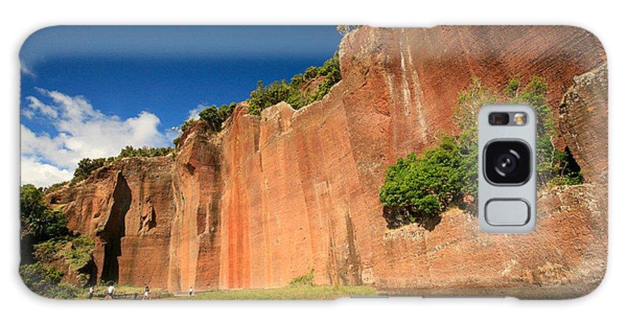 Walls Galaxy S8 Case featuring the photograph Santa Maria Azores by Gaspar Avila