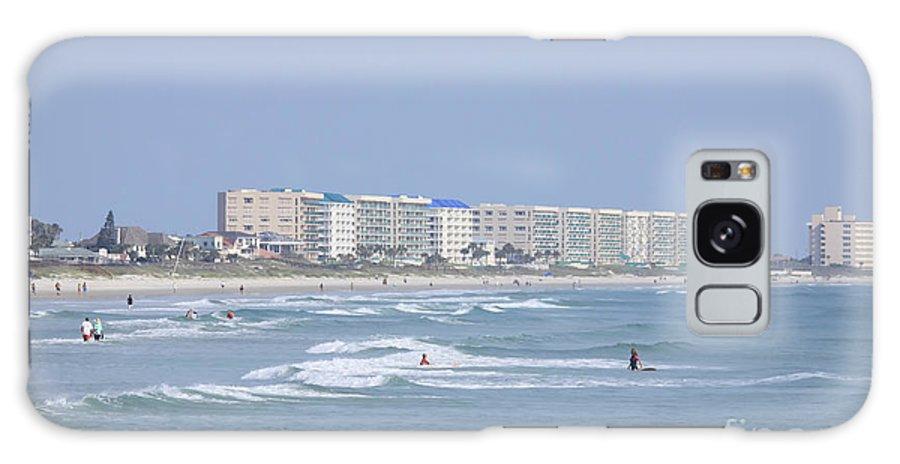 Ocean Galaxy S8 Case featuring the photograph Saturday At The Beach by Deborah Benoit