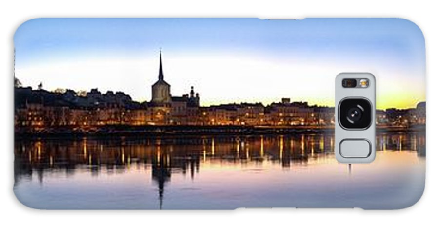 France Galaxy S8 Case featuring the photograph Saumur 2 by Roger Armfelt