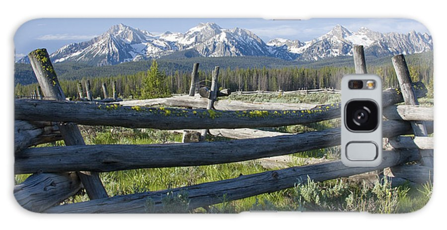 Sawtooth Galaxy Case featuring the photograph Sawtooth Range by Idaho Scenic Images Linda Lantzy