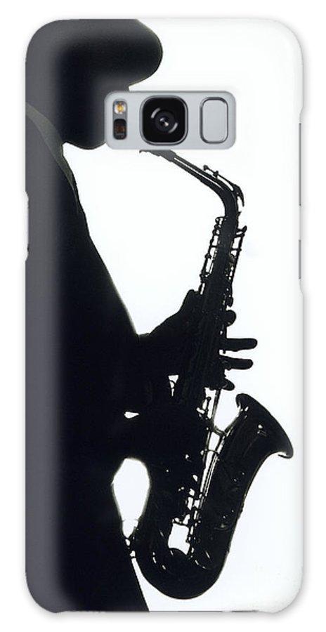 Sax Galaxy S8 Case featuring the photograph Sax 2 by Tony Cordoza