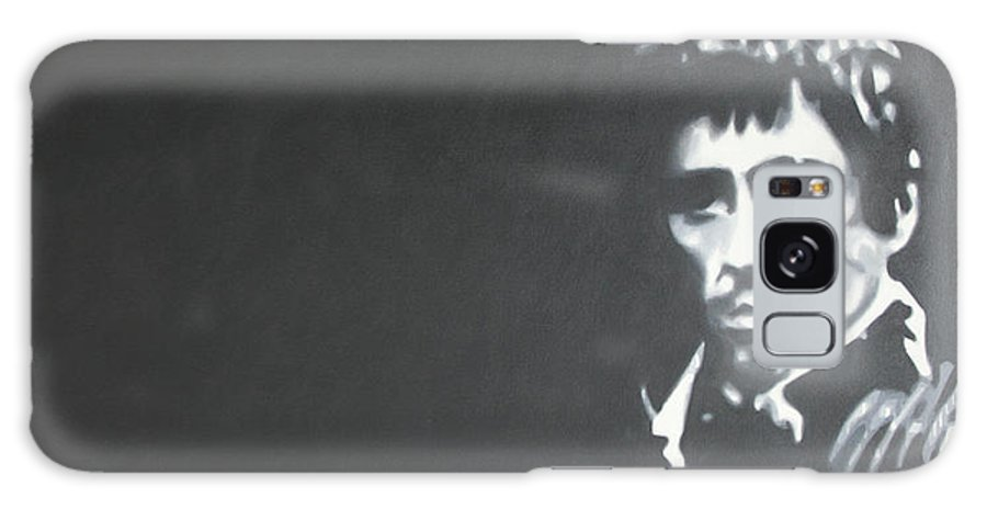 Scarface Galaxy S8 Case featuring the painting Scarface by Ludzska Hood