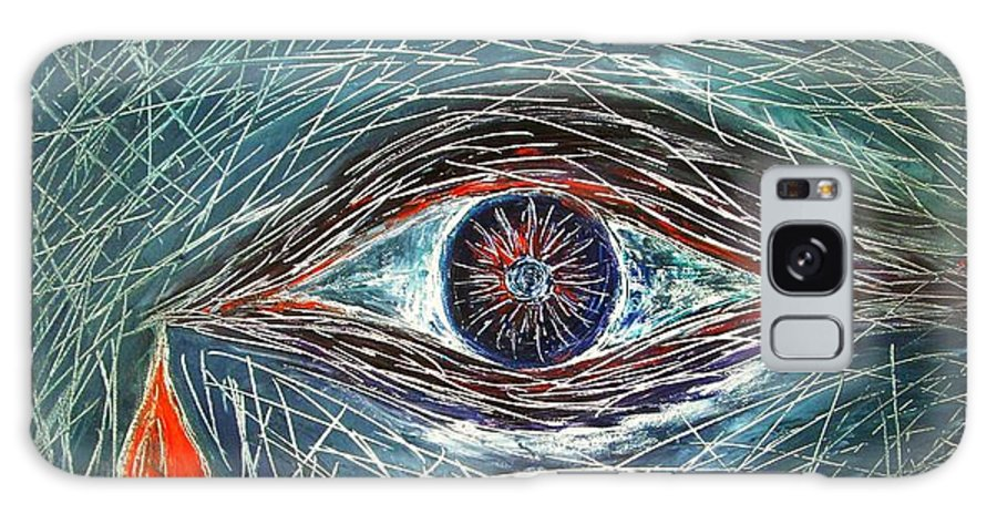 Scars Galaxy S8 Case featuring the painting Scars In My Soul by Marianna Mills