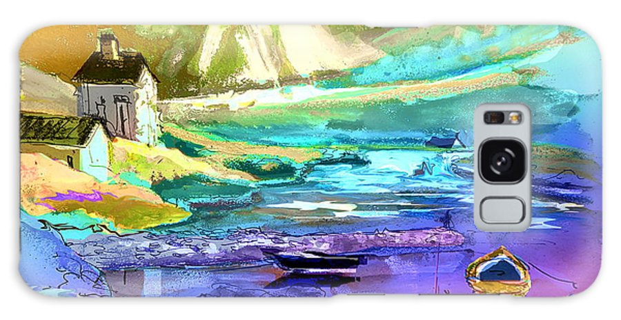 Scotland Paintings Galaxy S8 Case featuring the painting Scotland 15 by Miki De Goodaboom